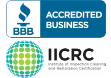 Fine Restoration is IICRC certified to handle water damage in Olathe Kansas City